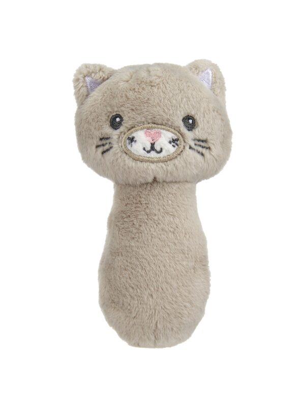 Fluffy Kitty rattle