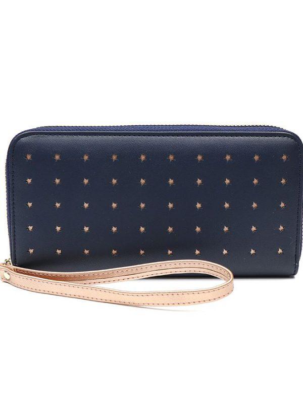 Large star purse - Navy