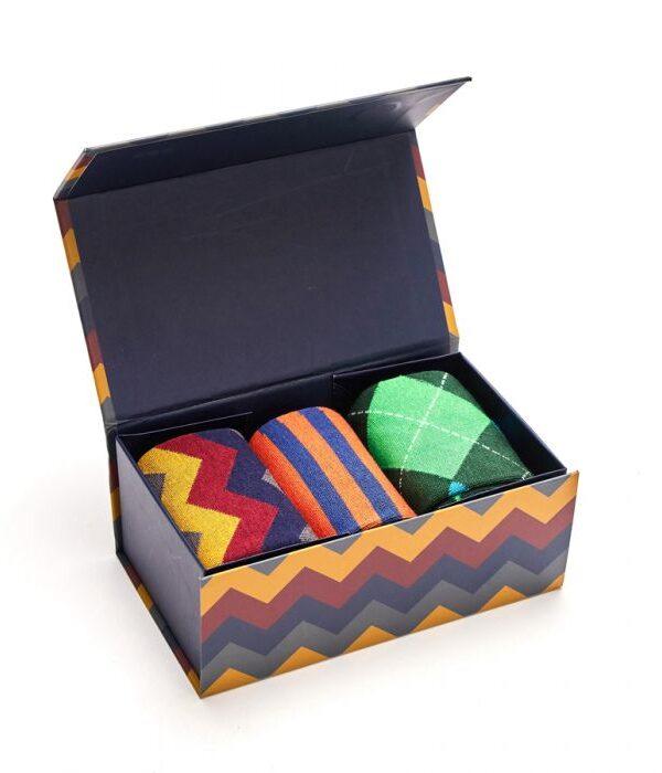 Muli-colour sock box