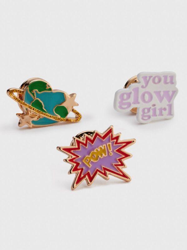 Glow Girl Pins