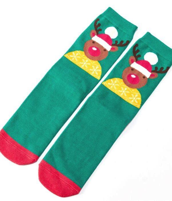 Santa Reindeer - Green
