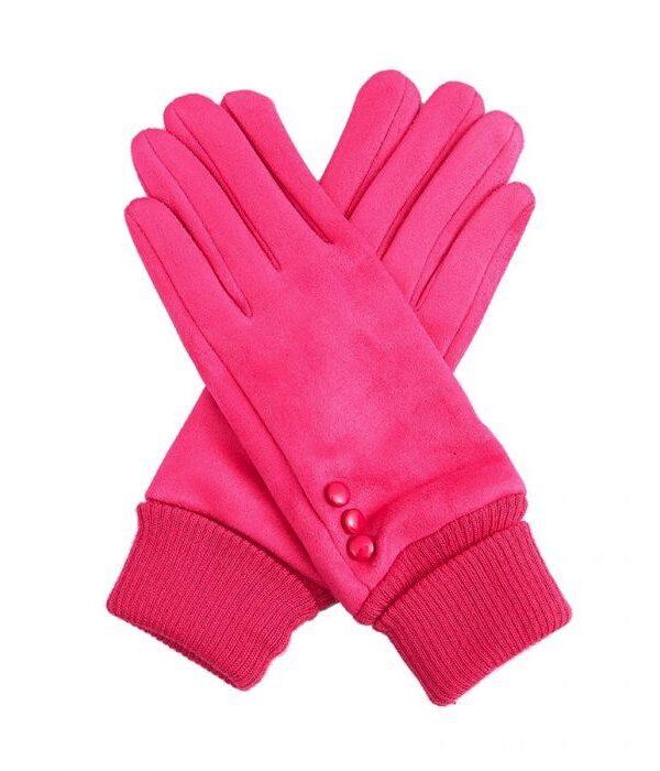 Hot Pink Gloves