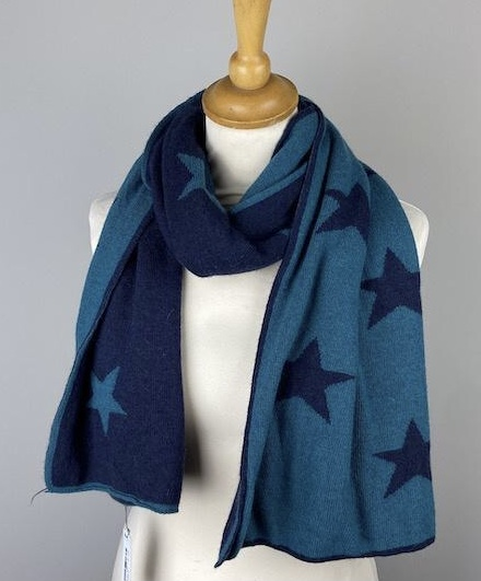 cashmere Navy/Teal