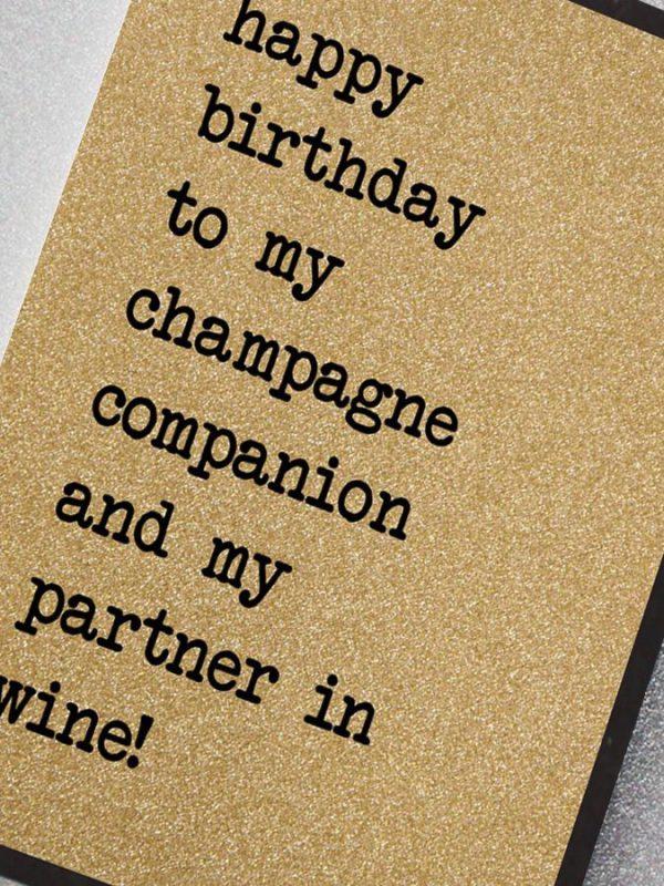 champagne companion