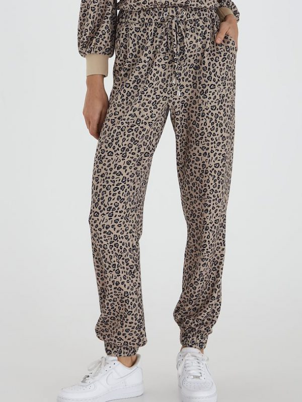 Leopard Casual Trousers