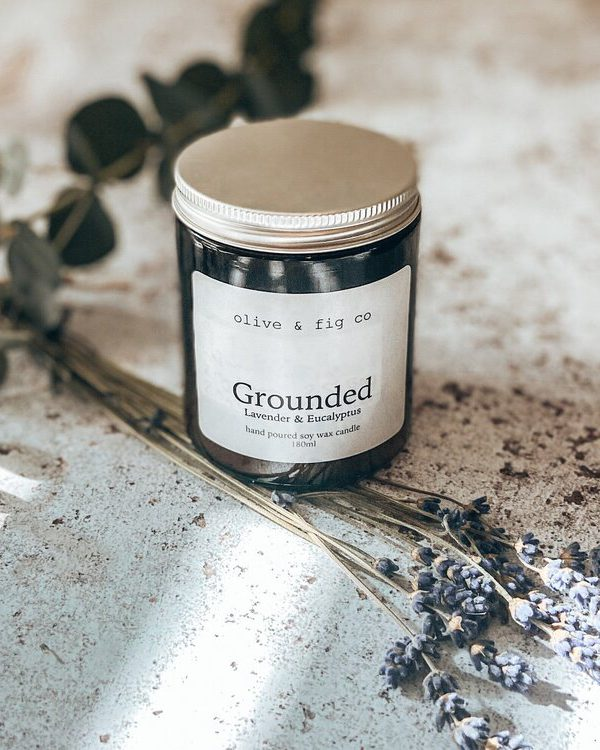 Grounded candle