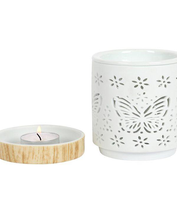 Butterfly Ceramic Wax Melt/Oil Burner