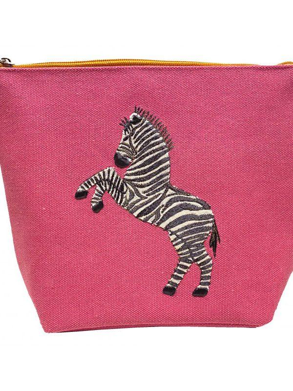 Dancing Zebra Make Up Bag