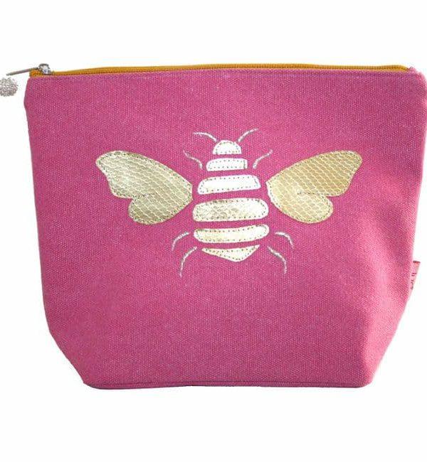 Large Bee Make up Bag