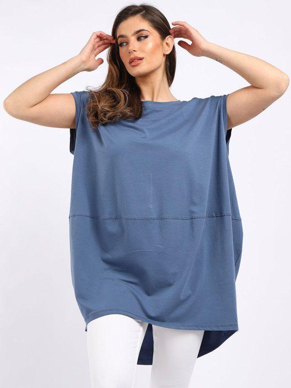 Denim Blue Tunic top