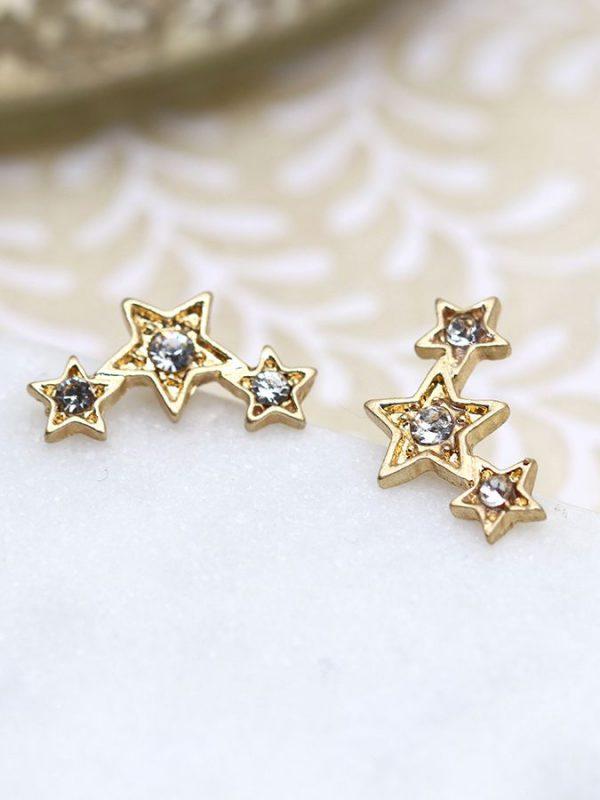 Climber gold star & Cryst