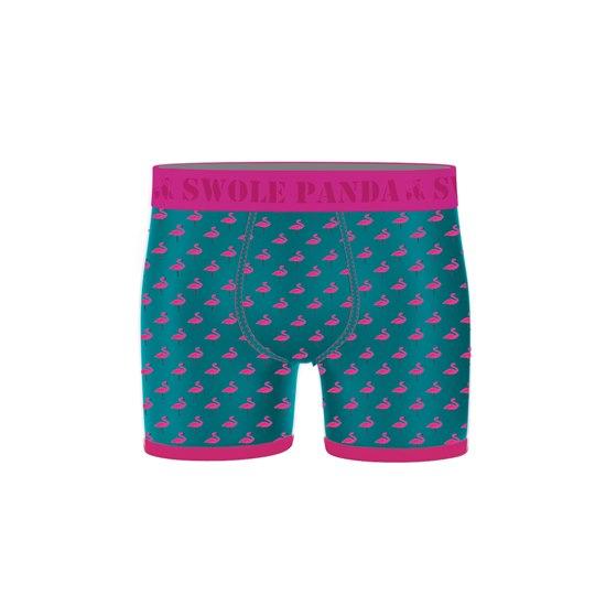 Men's Bamboo Boxer shorts - Flamingo (Small)