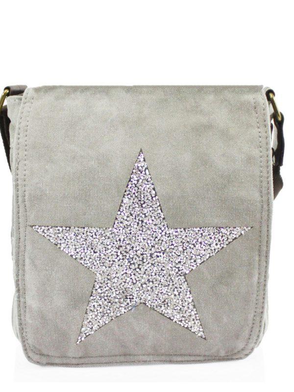 Light Grey Star Bag