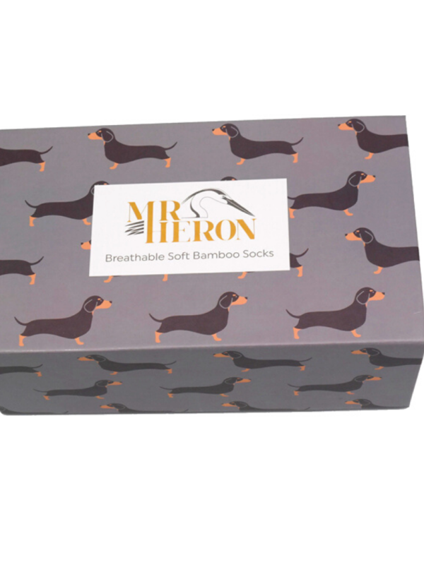 Little Sausage Dogs - Mens Bamboo Box Set